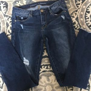 Nordstrom articles of society ripped jeans skinny